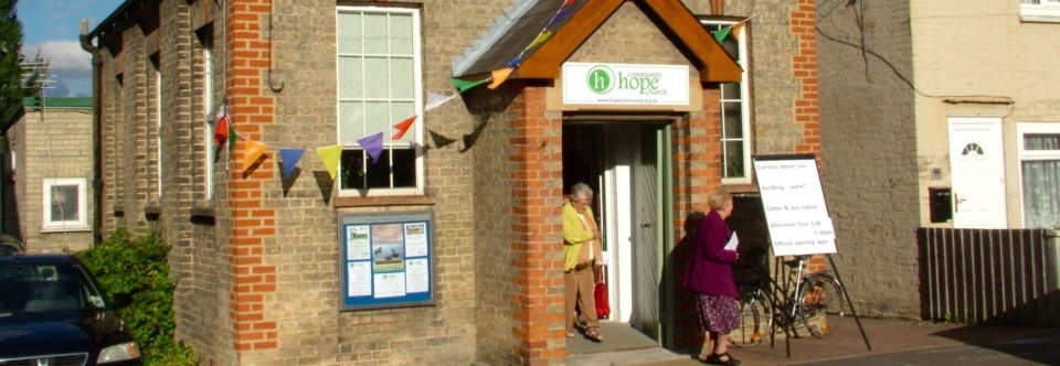 Weekday community events at the chapel on High Street…